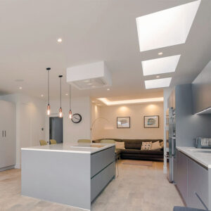 ECO Fixed + Upstand (TG) Rooflight 1000mm x 1000mm