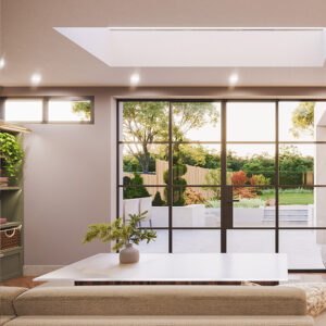 ECO Electric Opening Rooflight 1400mm x 1400mm