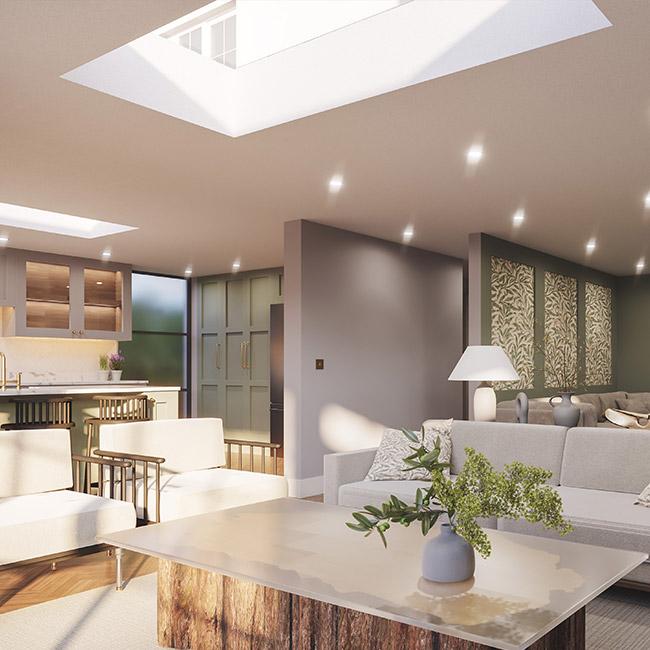ECO Fixed + Upstand (DG) Rooflight 1000mm x 1500mm