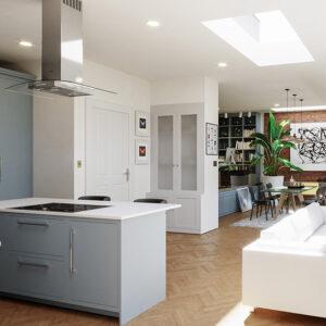 ECO Fixed + Upstand (DG) Rooflight 700mm x 700mm