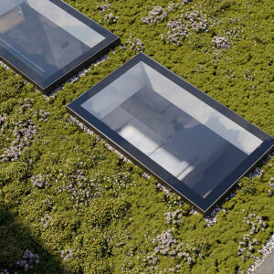 ECO Fixed + Upstand (DG) Rooflight 1200mm x 1200mm