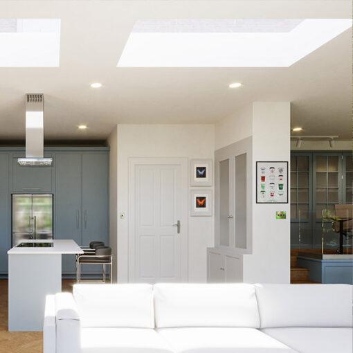 Lite Lid (DG) Rooflight 1400mm x 1400mm
