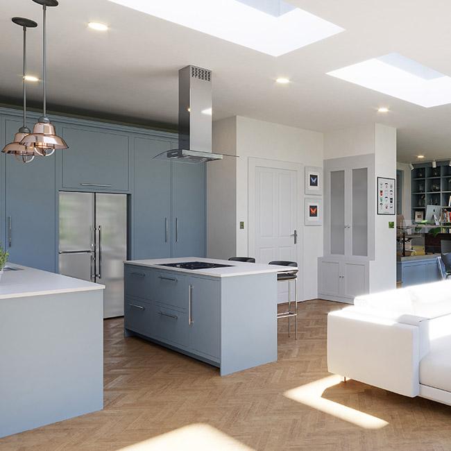 Lite Lid (DG) Rooflight 1200mm x 1200mm