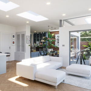 ECO Electric Opening Rooflight 800mm x 800mm