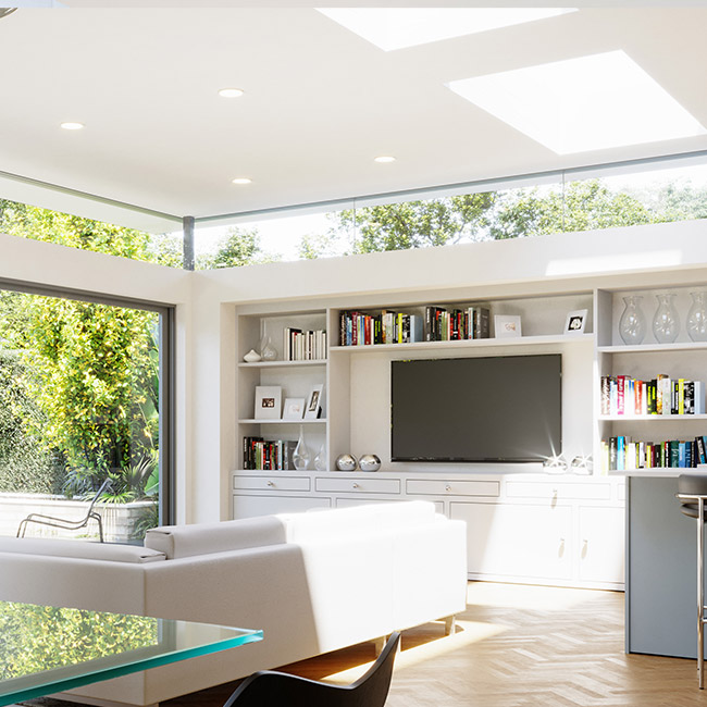 ECO Fixed + Upstand (TG) Rooflight 500mm x 500mm