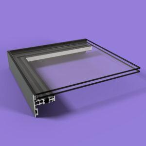 Lite Lid (DG) Rooflight 1000mm x 3000mm