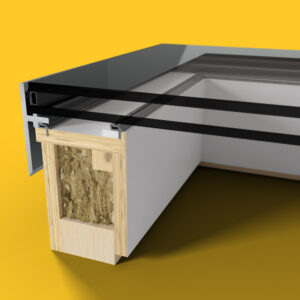 ECO Fixed + Upstand (DG) Rooflight 1500mm x 1500mm
