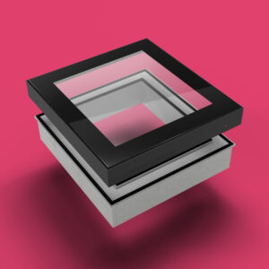 ECO Fixed + Upstand (DG) Rooflight 500mm x 500mm