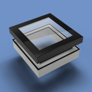 ECO Fixed + Upstand (TG) Rooflight 700mm x 700mm