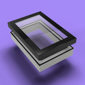 ECO Fixed + Upstand (DG) Rooflight 600mm x 1200mm