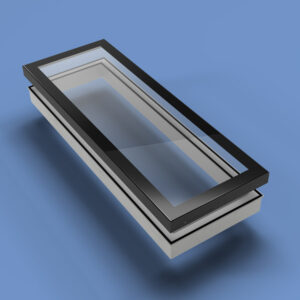 ECO Fixed + Upstand (TG) Rooflight 600mm x 2400mm