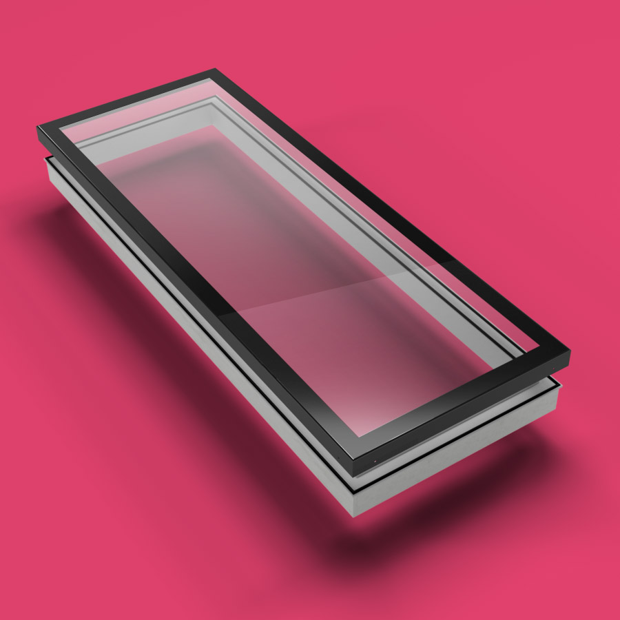 ECO Fixed + Upstand (TG) Rooflight 800mm x 3000mm