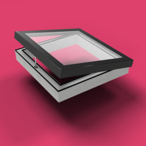 ECO Electric Opening Rooflight 900mm x 900mm