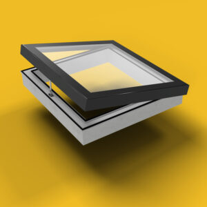 ECO Electric Opening Rooflight 1200mm x 1200mm