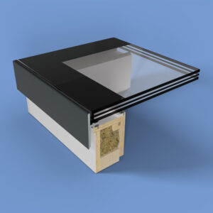 ECO Fixed + Upstand (TG) Rooflight 1000mm x 2000mm