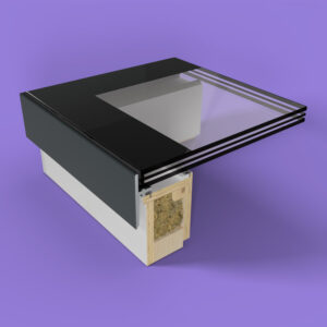 ECO Fixed + Upstand (TG) Rooflight 600mm x 900mm