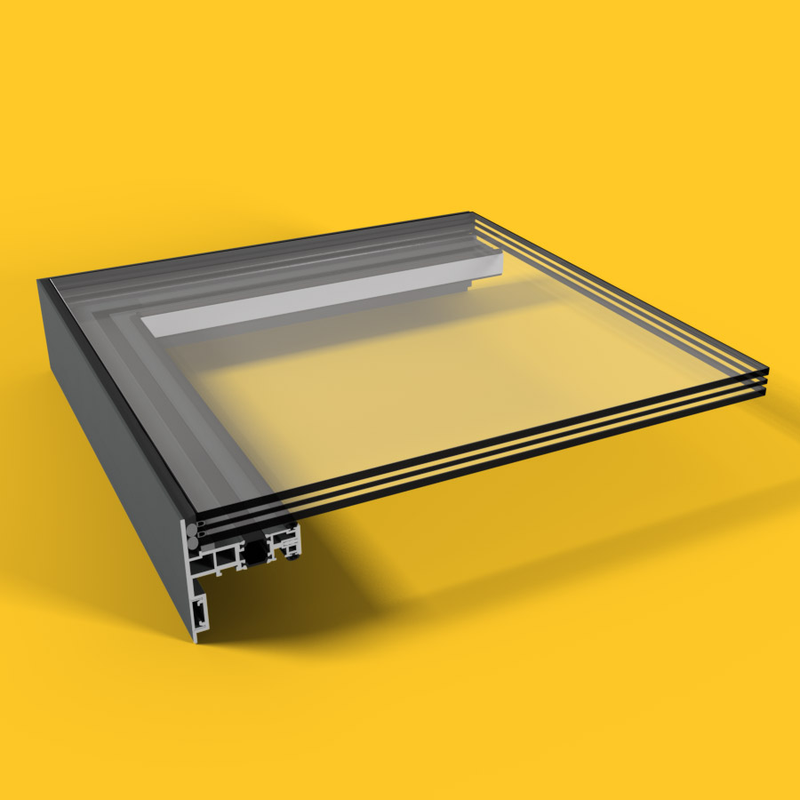 Flex Lid (DG) Rooflight 1200mm x 1500mm
