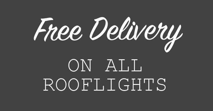 Free Delivery on all rooflights